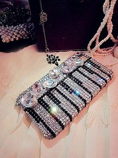 Striped piano key bling ❤ original link not available; pinned from another sister