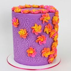Cake Decorating For Beginners, Creative Cake Decorating, Cake Decorating Videos, Cake Decorating Techniques, Creative Cakes, Cookie Decorating, Cake Icing, Eat Cake, Cupcake Cakes
