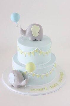 Baby elephant cake …
