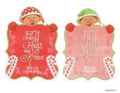 Cute Elf Stationery, Fun Elf Ideas & More Free Printables - Design Dazzle