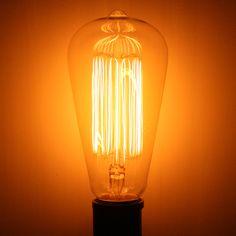 ADL 44291 L2780 PERMALITE 30W MARCONI EDISON FILAMENT Edison Style Antique Light Bulb at eLightBulbs.com