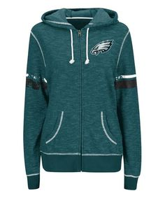 Philadelphia Eagles Zip-Up Hoodie - Women & Plus