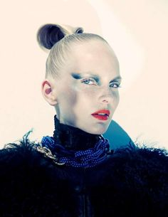 Futuristic Warrior Fashion - This Vogue Portugal Photo Shoot Features a Diva from the Future (GALLERY)