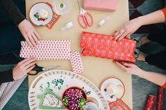 Image result for wrappping party