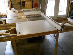 Table Saw Sliding Table