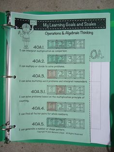 If your district uses the Marzano evaluation system, there are several ways you can easily keep up with progress monitoring. Student portfolios make tracking student progress with Marzano Scales simple! Learning Targets, Learning Goals, Instructional Strategies, Teaching Strategies, Teaching Tips, Instructional Technology, Marzano, Teaching Posters, Teaching Math