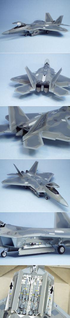 Academy 1/72 F-22 Raptor http://www.network54.com/Forum/47751/message/1448308776/Academy+1-72+F-22+Raptor