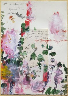 Cy Twombly (USA 1928-2011) Untitled, 1989 collage:...