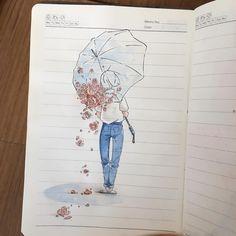 手掛かり手掛かり~ Summer's most redeemable qualities are Rain and watermelon •!•