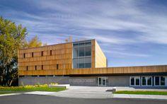 Bibliothèque Montarville-Boucher-de-la Bruère, Boucherville, 2009 - BGLA - Architecture + Design Urbain