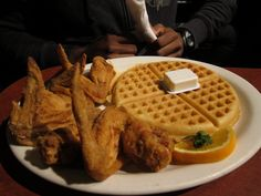 Gladys Knight chicken and waffles Atlanta Restaurants, Great Restaurants, Gladys Knight, Ice Cream Parlor, Chicken And Waffles, Main Courses, Places To Eat, Homeland, Deli