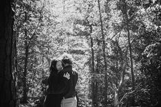 Atlanta GA wedding photographer You Are Raven captures hiking engagement session