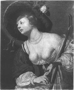 Jan Hermansz van Bijlert (1597/98 - ноябрь 1671) Shepherdess. (Pommersfelden, Gemäldegalerie, Schloss der Grafen von Schönborn)