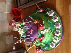 Tinkerbell and the Pirate Fairy Birthday Cake! Girls 2nd Birthday Cake, Fairy Birthday Cake, Butterfly Birthday, Bday Girl, 2nd Birthday Parties, Birthday Fun, Birthday Ideas, Pirate Fairy Cake, Pirate Party