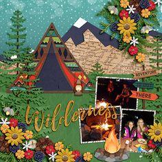 Camping - Scrapbook.com