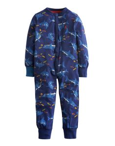"#Joules ""Connor"" - € 27,95 - Wikimo Kindermode, Kinder Schlafoverall, navy shark by Tom Joule 