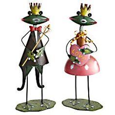 Whimsical Pier 1 Frog Prince & Princess