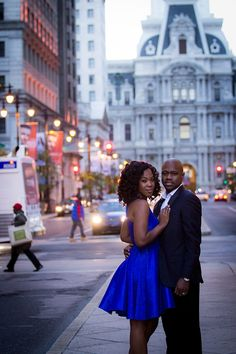 Real Engagements {Philadelphia}: Tilewa & Oderah! - Blackbride.com