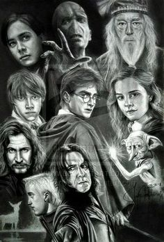Some of the HP characters.