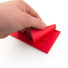 Creative Safety Supply - 5S Adhesive Red Tags, $14.99 (http://www.creativesafetysupply.com/5s-adhesive-red-tags/)
