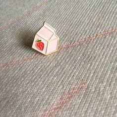 strawberry milk pin