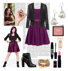 A fashion look from August 2015 featuring Valentino ankle booties, Bling Jewelry earrings and LIU Disney Themed Outfits, Disney Bound Outfits, Casual Cosplay, Cosplay Outfits, Date Outfits, Cool Outfits, Descendants Costumes, Disney Descendants, Disney Inspired Fashion