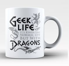 """It's kinda like normal life but with dragons."""