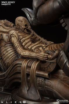 Sideshow Alien Space Jockey Maquette 007