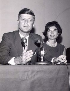 For the Gazette Jackie Kennedy came to West Virginia seven times in support of her husband. Here they are in October 1959, before Kennedy had officially announced his candidacy.