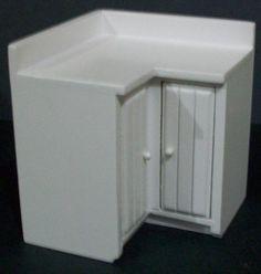 Kitchen Unit Corner White (80W x 80D x 89Hmm)