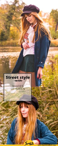Berlin Street style, shades of green, autumn colours, autumn outfit, autumn streetstyle