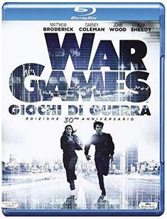 Wargames - Giochi Di Guerra (Blu-ray singolo) Dabney Coleman, Kent Williams, 1980s Films, John Wood, Movies, Movie Posters, Amazon, Shopping, Films