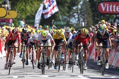 Peter Sagan leads the charge for third