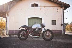 caferacerpasion:   Moto Guzzi Cafe Racer by BAAK... / cafe racer
