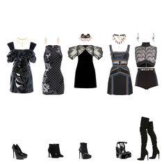 Fashion Bella, Korean Girl Fashion, Korea Fashion, Kpop Fashion Outfits, Stage Outfits, Dance Outfits, Retro Outfits, Classy Outfits, Cute Outfits
