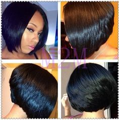Miraculous Feathered Bob Bob Hairstyles And African Americans On Pinterest Short Hairstyles Gunalazisus
