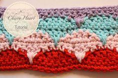FIFIA CROCHETA blog de crochê : ponto de crochê lindo com tutorial bem explicadinh...