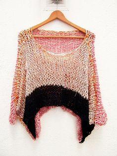 Crochet Yarn, Knitting Yarn, Crochet Stitches, Summer Knitting, Knit Fashion, Knitted Shawls, Knitting Designs, Knitwear, Knitting Patterns