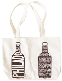 Philadelphia Double Wine Tote