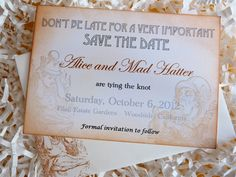 AIW~Save the dates