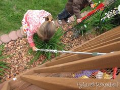 previous pinner wrote: This interactive musical rod is simple to make and easy to use -- over and over again. Kids slide the washers to the top of the metal rod and release them. As the washers slowly cascade to the bottom, they make a beautiful metallic twinkling sound, similar to that of a rain stick.