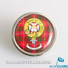 Carruthers Clan Crest Pin Badge