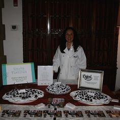 Another great evening featuring Enjou Chocolat At the Pleasantdale Chaeau Grand Tasting event benefiting the Jersey Battered Women's service.