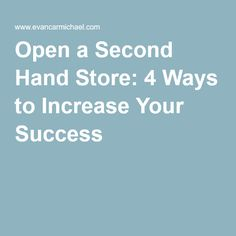 Starting a tutoring service sample business plan template open a second hand store 4 ways to increase your success accmission Image collections
