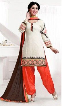 Cotton Off White Color Straight Cut Punjabi Patiyala Readymade Dresses | FH500476556 #punjabi , #patiyala, shindhi, #suits, #narrow, #dresses, #salwar, #kameez, #straight, #long, #heenastyle, #indian, #online, #shopping, #clothing, #womens, #girls, #style, #mode, #henna, #hina, #mehendi, #dupatta, #chudidar, @heenastyle , #pakistani, #readymade