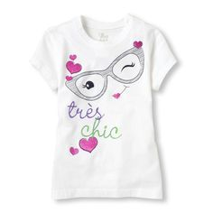 French tres chic graphic tee - section of information related to. Kids Outfits Girls, Girl Outfits, Baby Boy Dress, Winter Baby Clothes, Baby Dress Design, Printed Tees, Baby Wearing, Shirts For Girls, Kids Fashion