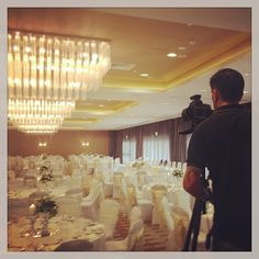 Wedding set up in Podium rooms for our photo shoot | Instagram photo by rydgessouthbank |