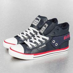 British Knights Roco PU Sneakers Navy/Red