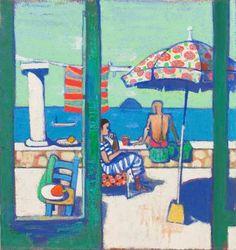 Leon Morrocco - Resting on the Patio, Panarea