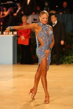 Learn to dance anything REMOTELY LIKE Yulia Zagoruychenko... Maybe unattainable but I can try.